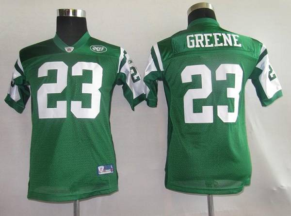 Jets #23 Shonn Greene Green Stitched Youth NFL Jersey