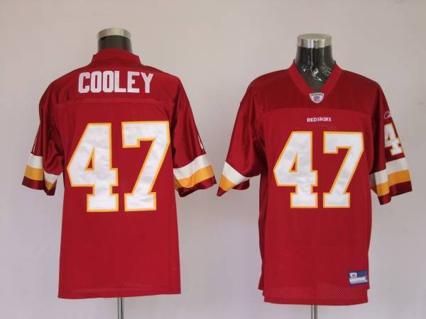 Redskins #47 Chris Cooley Stitched Red Youth NFL Jersey