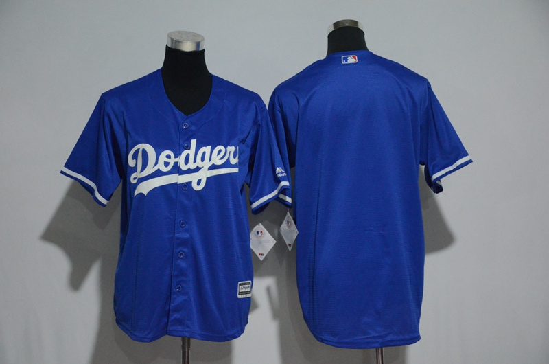 Youth Los Angeles Dodgers Majestic Royal Alternate Cool Base Stitched MLB Jersey