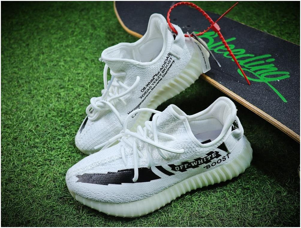 2018 OFF-WHITE x adidas Originals YEEZY BOOST 350 V2 Cream White