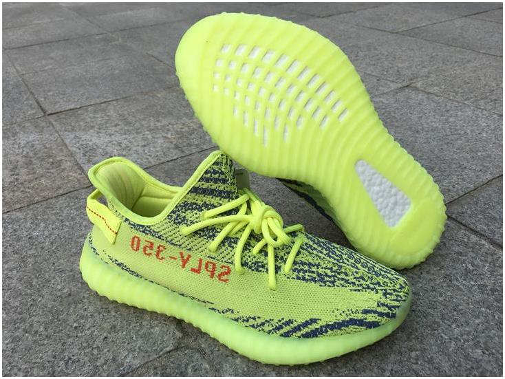 2017 Adidas Yeezy Boost 350 V2 Semi Frozen Yellow For Sale
