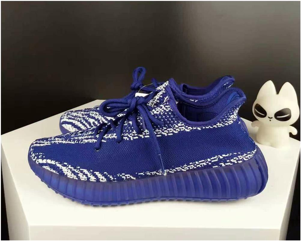 Adidas Yeezy Boost 350 V2 Deep Blue Glow in the dark For Sale
