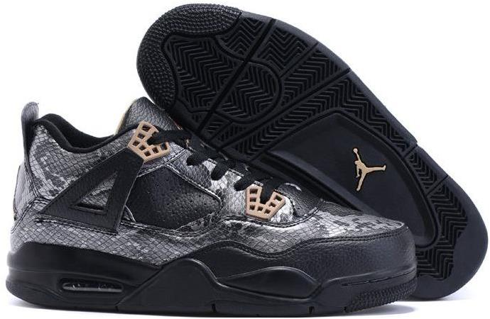 "2016 Air Jordan 4 (IV) ""Black Snake"" Cheap Sale"