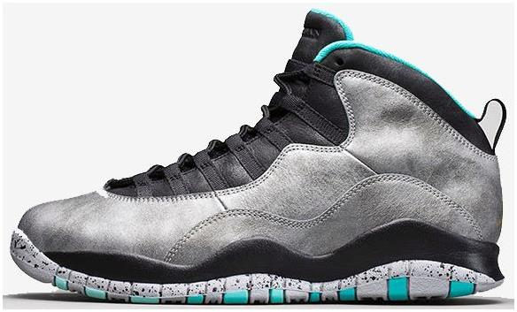 "Air Jordan 10 ""Lady Liberty"" Cement Grey/Black-Tropical Teal For Sale"