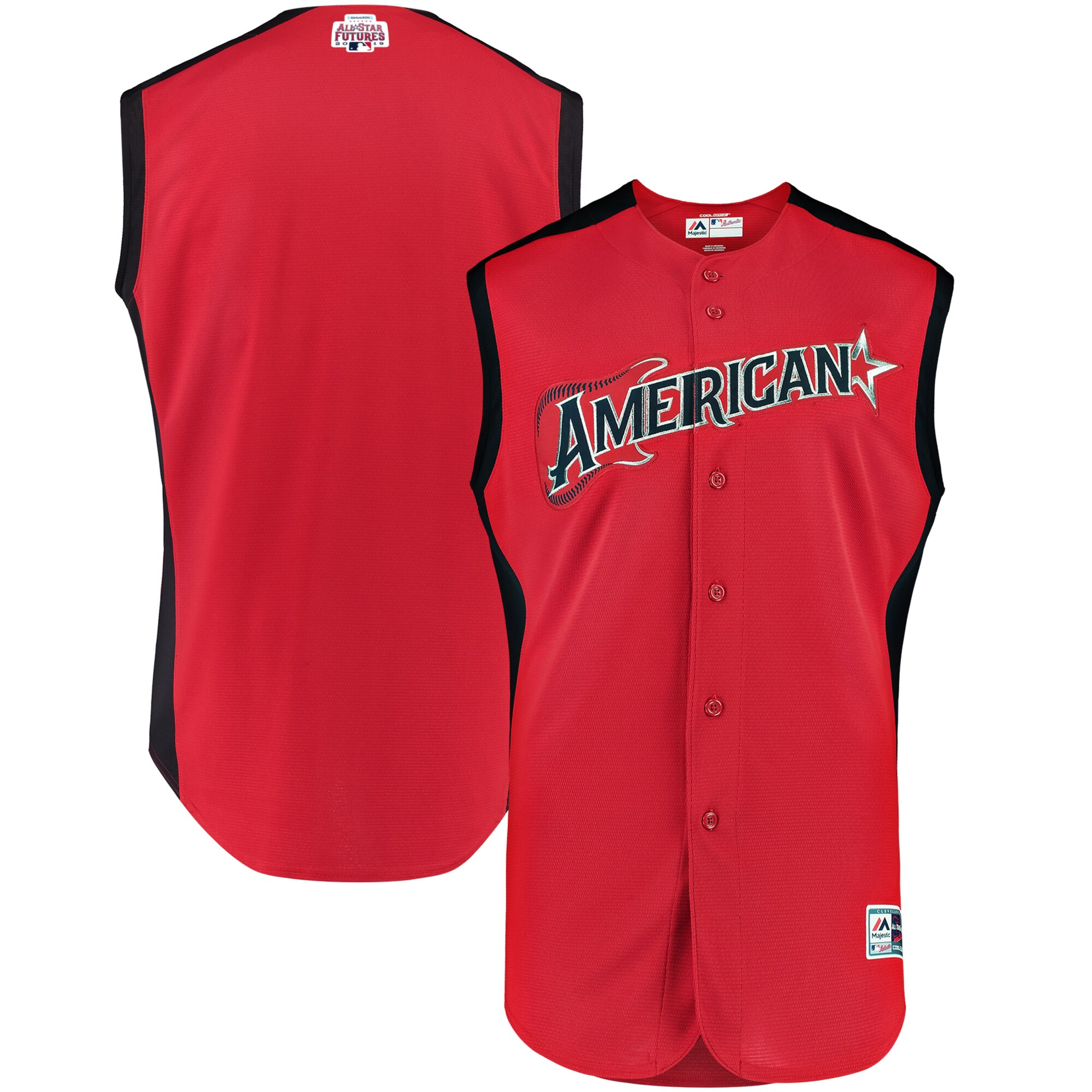 Men's American League Red/Navy 2019 MLB All-Star Futures Game Jersey