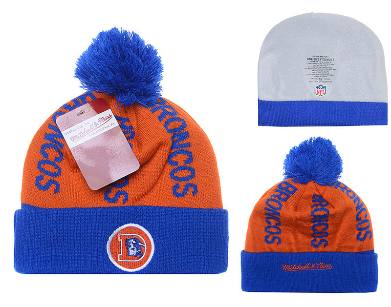 NFL Denver Broncos Stitched Knit Hats 026