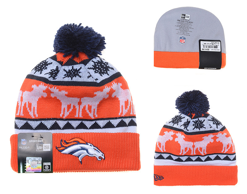 NFL Denver Broncos Stitched Knit Hats 028
