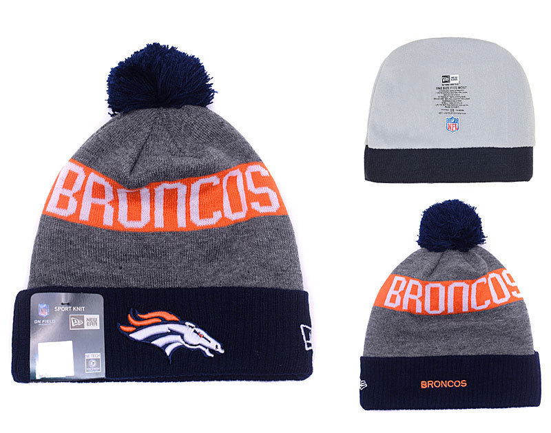 NFL Denver Broncos Stitched Knit Hats 032