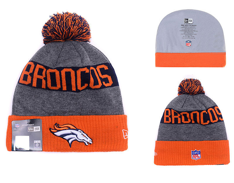 NFL Denver Broncos Stitched Knit Hats 033