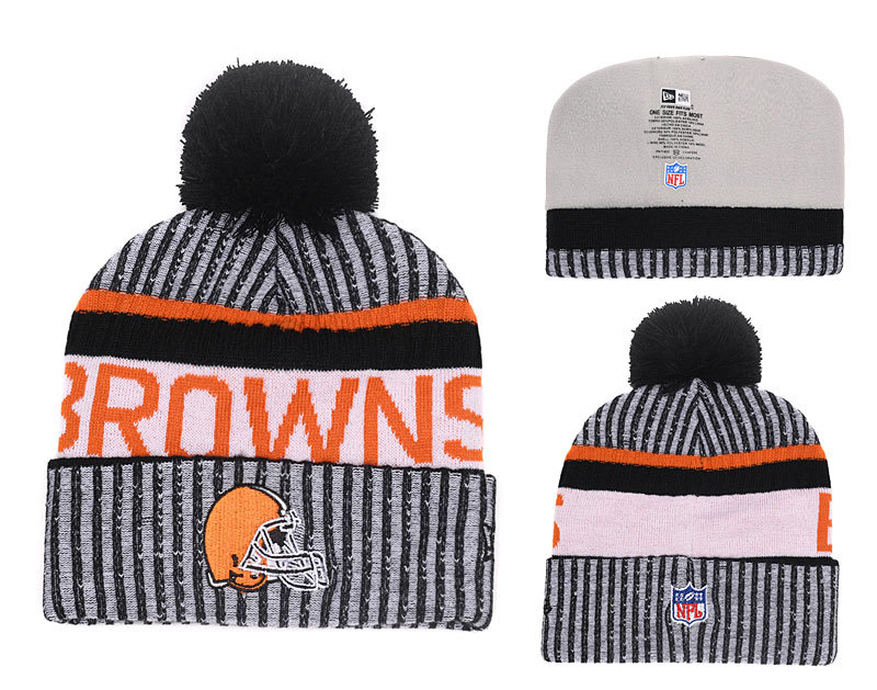 NFL Cleveland Browns Stitched Knit Hats 001