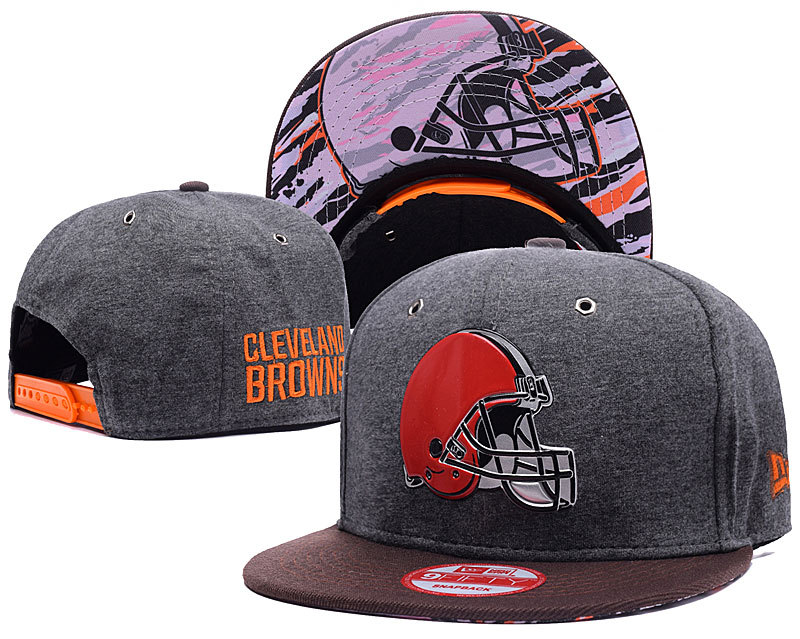 NFL Cleveland Browns Stitched Snapback Hats 004
