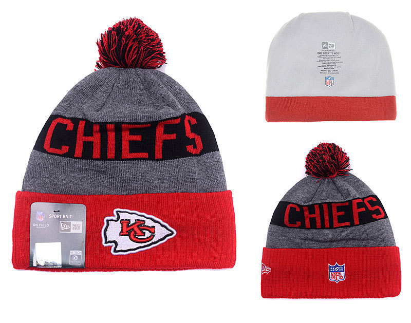 NFL Kansas City Chiefs Stitched Knit Hats 010