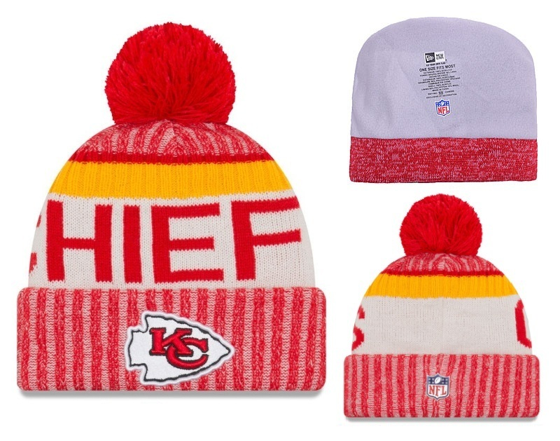NFL Kansas City Chiefs Stitched Knit Hats 002