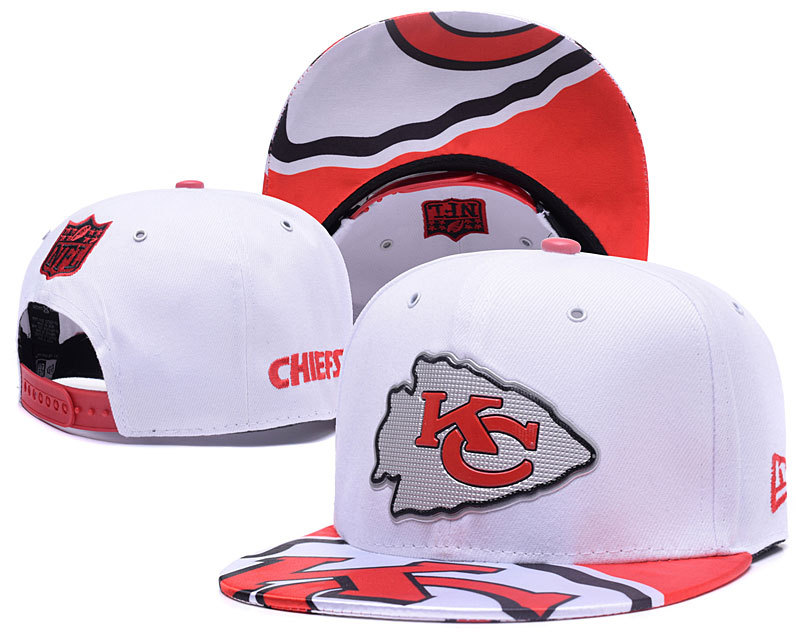 NFL Kansas City Chiefs Stitched Snapback Hats 004