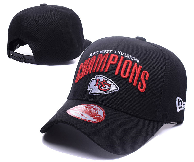 NFL Kansas City Chiefs Stitched Hats 005