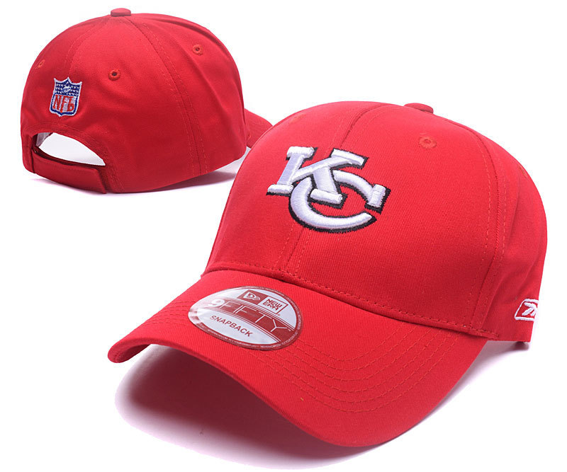 NFL Kansas City Chiefs Stitched Hats 009