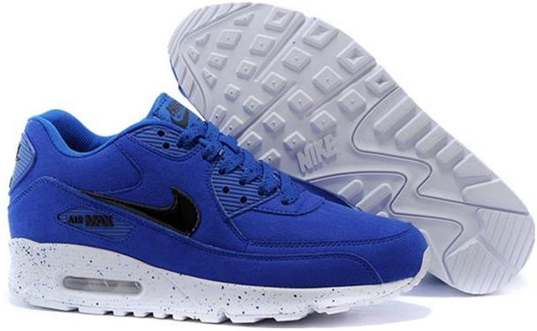 Air Max 90 Outlet Sale Womens Game Royal-White