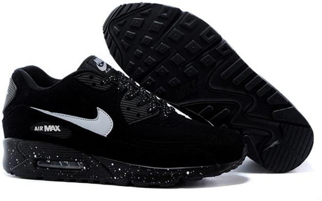 Air Max 90 Outlet Sale Womens Black-White