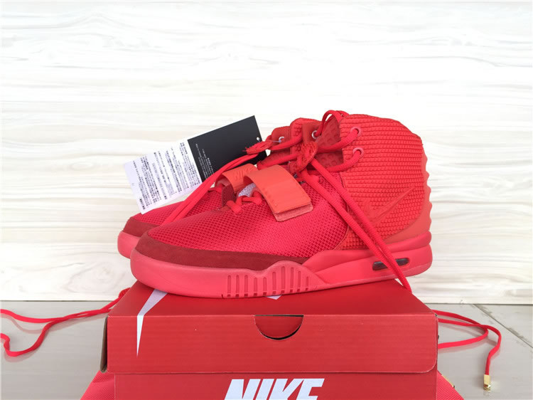 Nike Air Yeezy Red-1