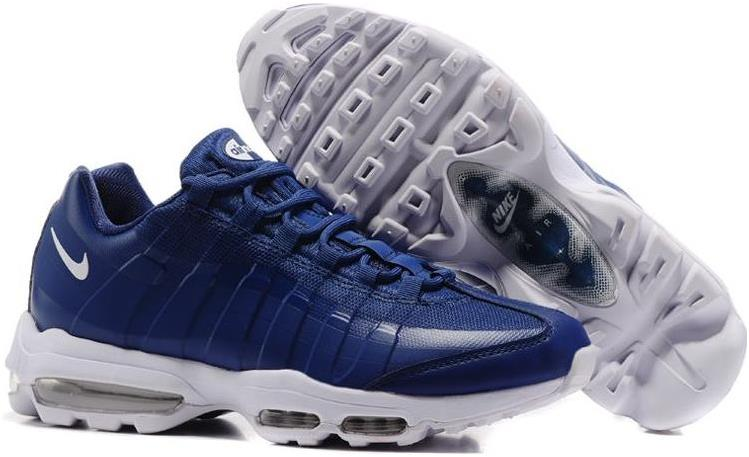 Cheap Nike Air Max 95 Ultra Essential Binary Blue-White Sale