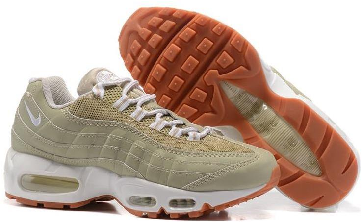 Nike WMNS Air Max 95 Oatmeal/White-Linen-Black Cheap Sale
