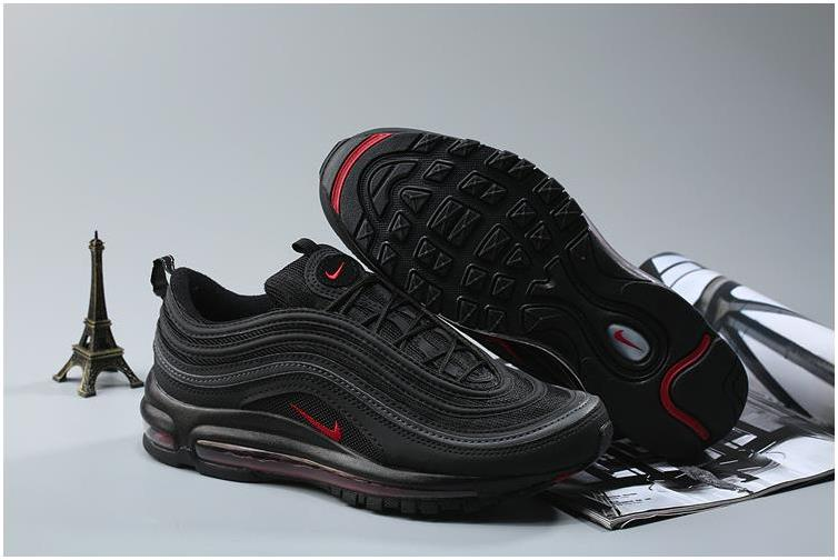 Nike Air Max 97 OG QS Black Red For Sale