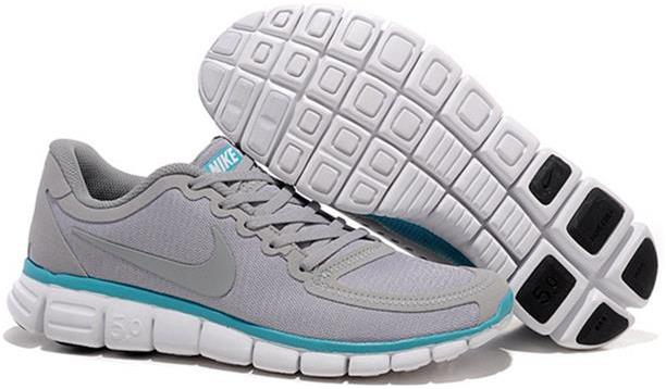 Nike Mens Free 5.0 V4 Wolf Grey Black