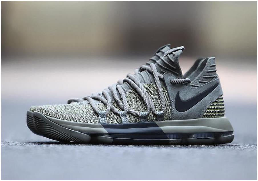 Nike KD 10 Dark Stucco/Anthracite For Sale