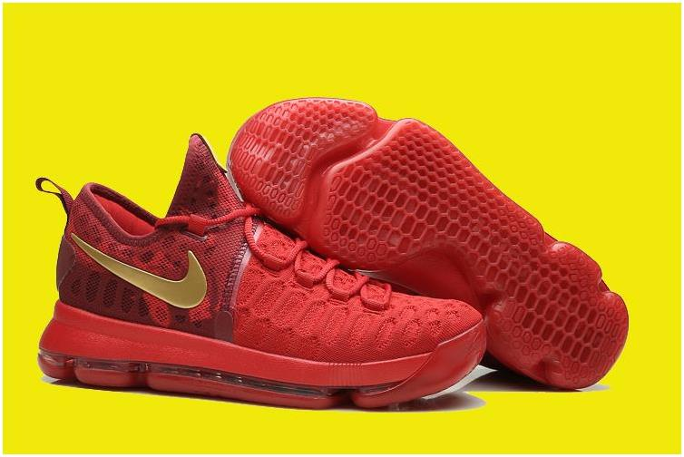 2017 Nike KD 9 Varsity Red/Gold For Sale