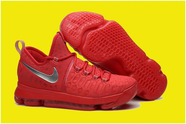 2017 Nike KD 9 Varsity Red/Silver For Sale