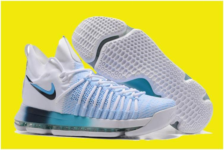 2017 Nike KD 9 Elite Blue White For Sale