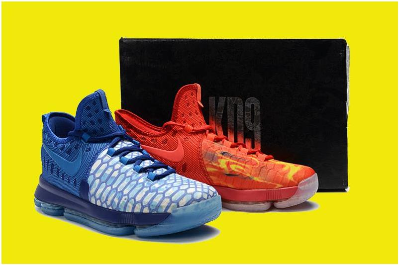 2016 Nike KD 9 'Fire & Ice' 855908-400 For Sale
