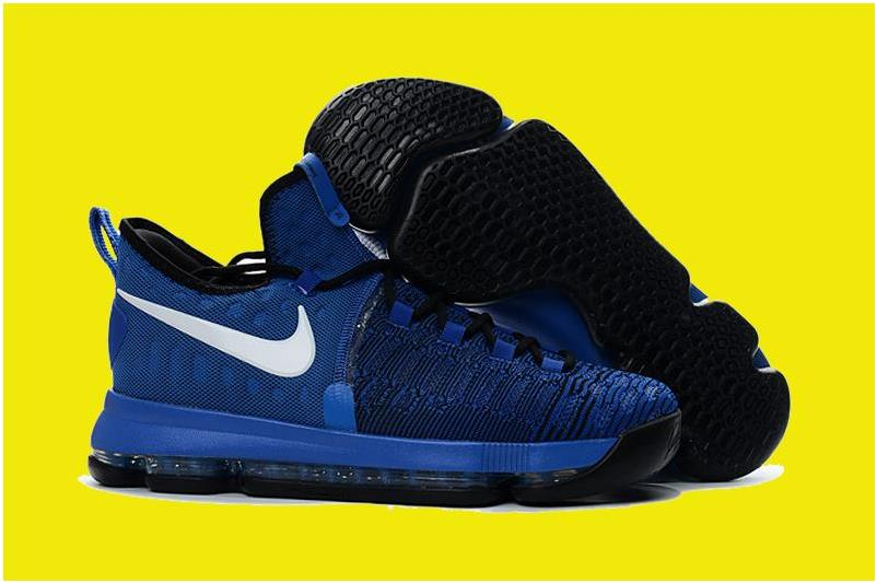 2016 Nike KD 9 'On-Court' Game Royal/Black-White 855908-410 For Sale
