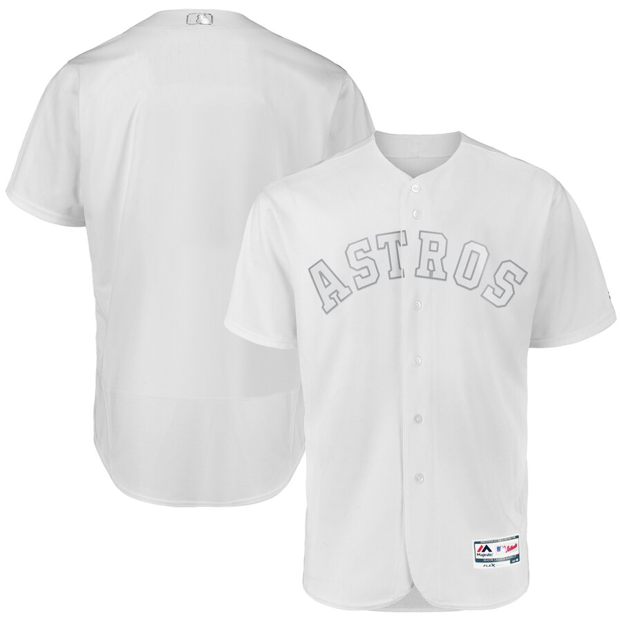 Men's Houston Astros White 2019 Players' Weekend Team Jersey