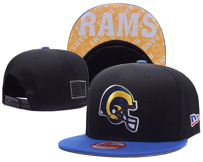 NFL Los Angeles Rams Stitched Snapback Hats 010